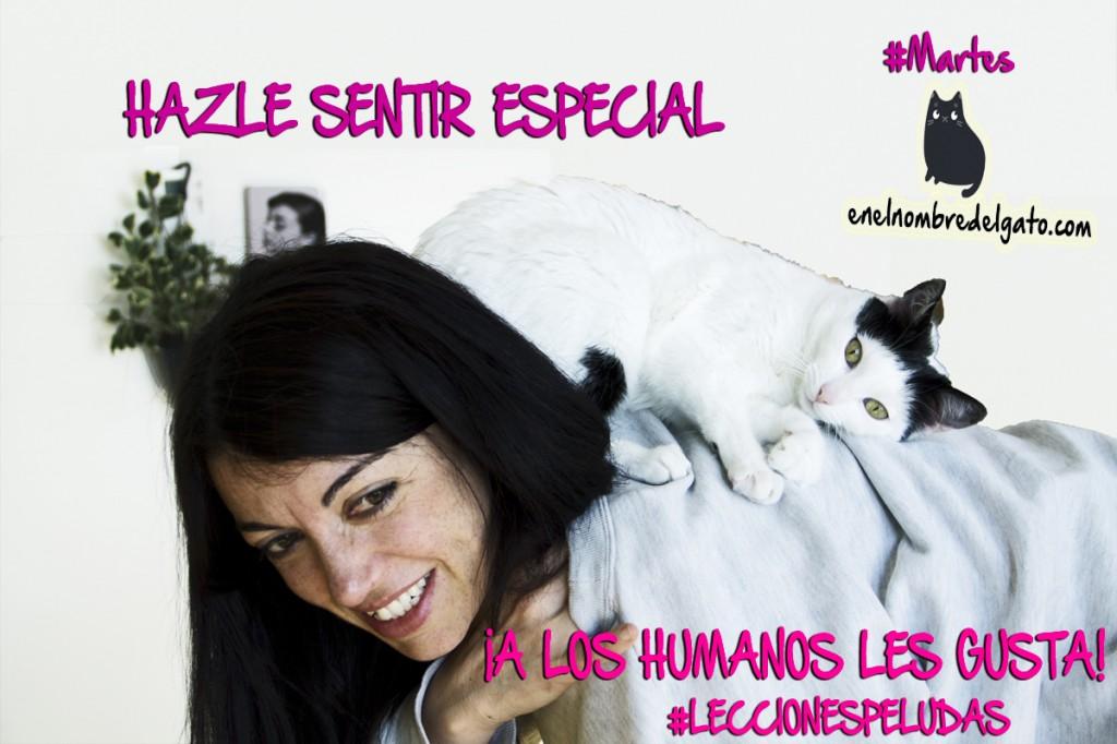 hazles sentir especiales-a los humanos les encanta