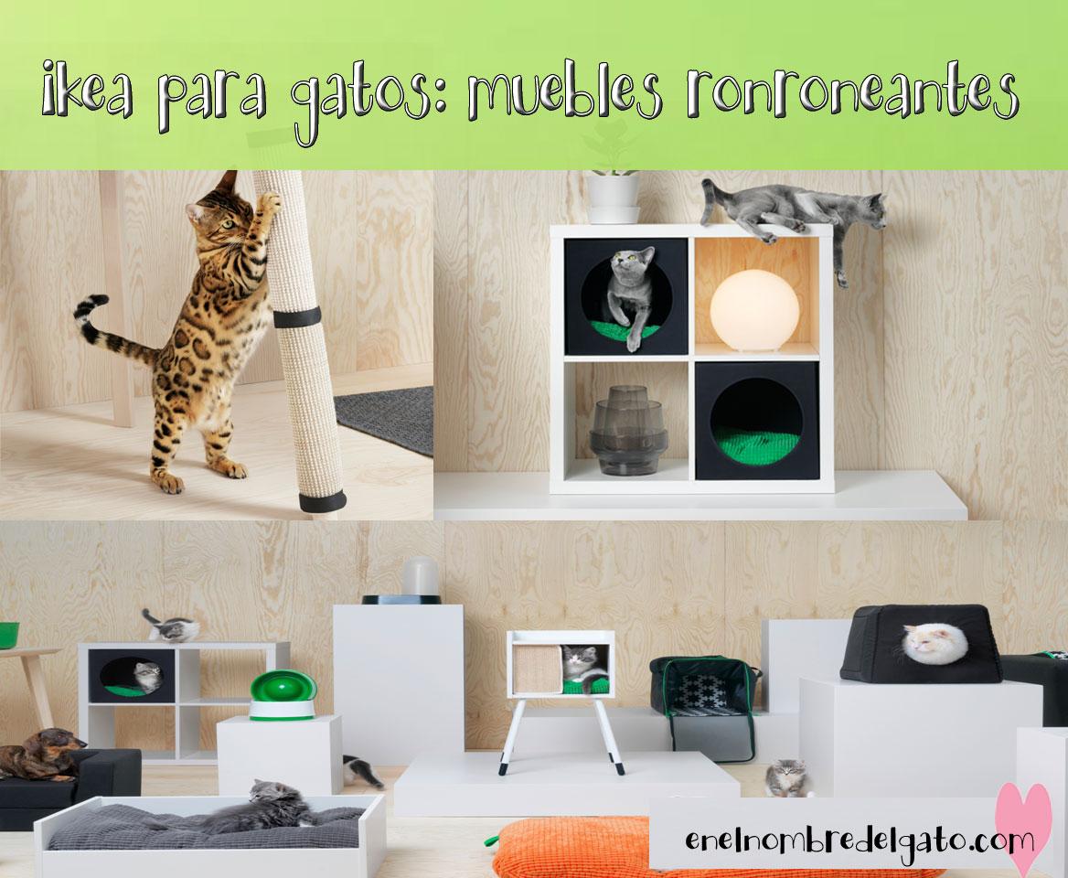 muebles para gatos ikea lurgiv
