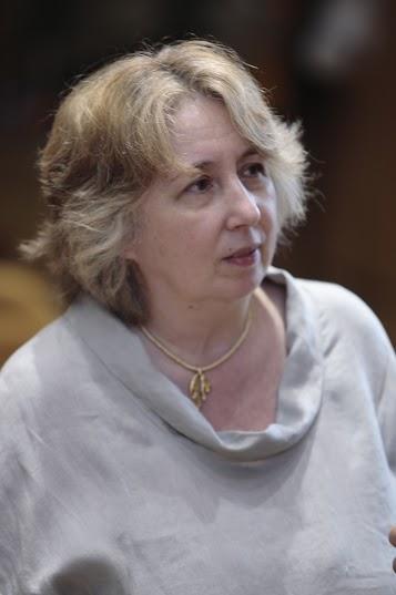 """La etóloga italiana Elena Carloni, una """"gatuna"""" confesa, defendió lo importante que es reducir el estrés de los felinos. / Foto: José María Balaguer"""