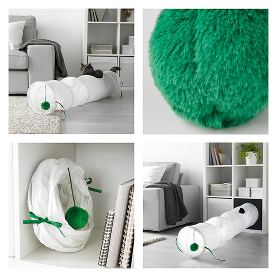 Juguetes para gatos Ikea, Ludwig