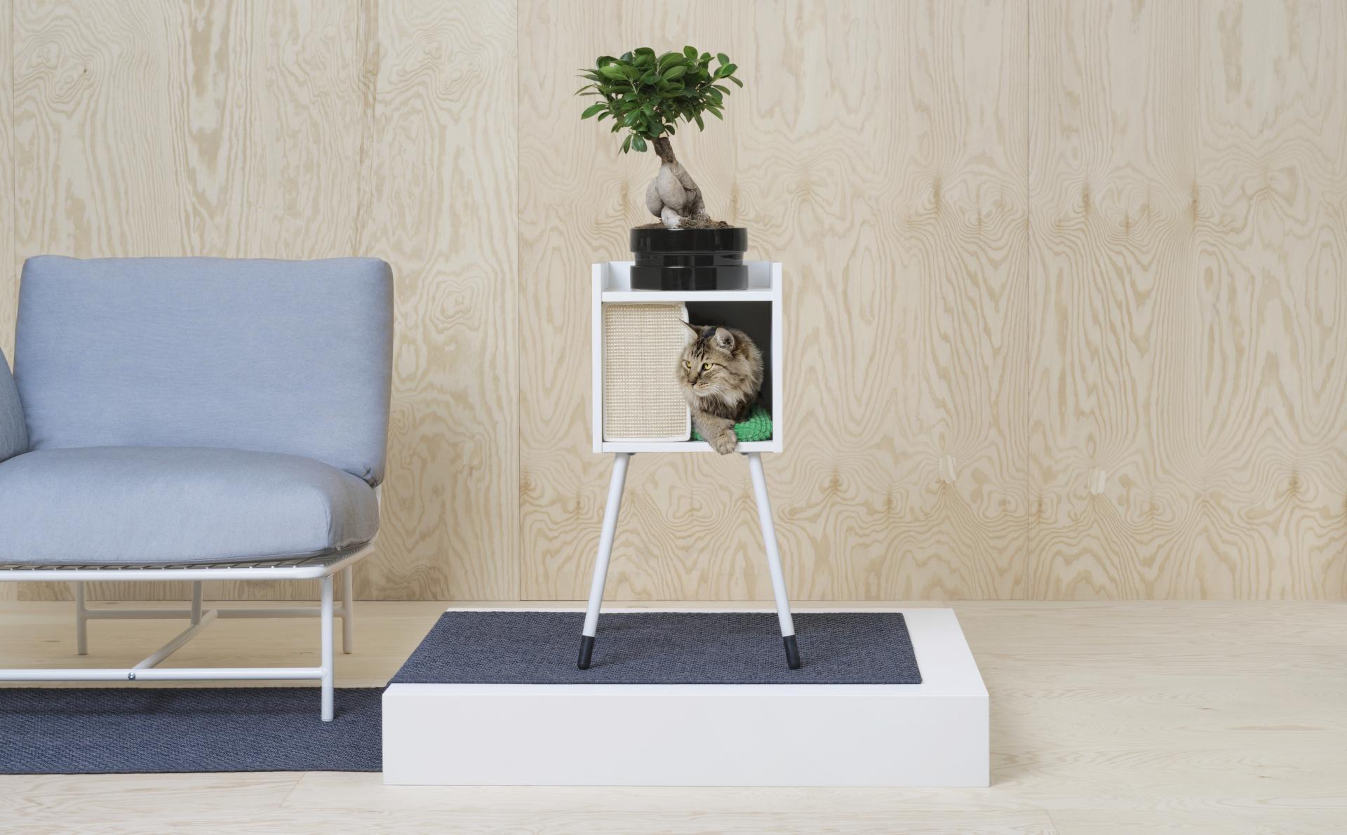 Muebles para gatos Ikea, Ludwig